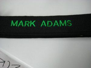 Mark black