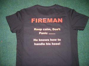 Vinyl Fireman