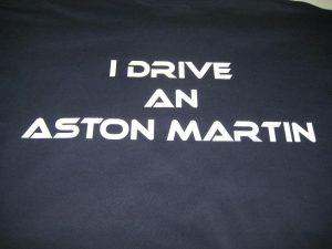 Vinyl aston martin