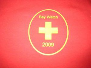 Vinyl baywatch