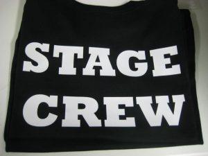 Vinyl stage crew