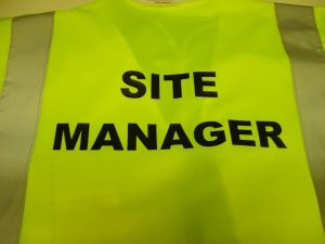 site manager safety